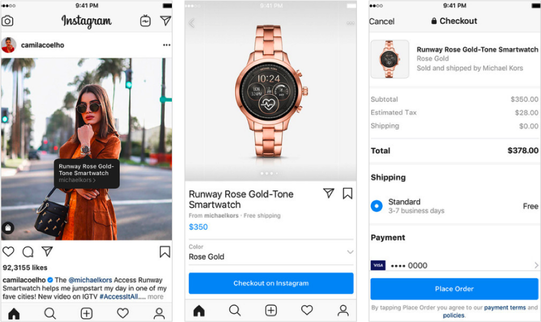 New Instagram Features - Shoppable Tags